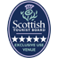5 star award from Visit Scotland